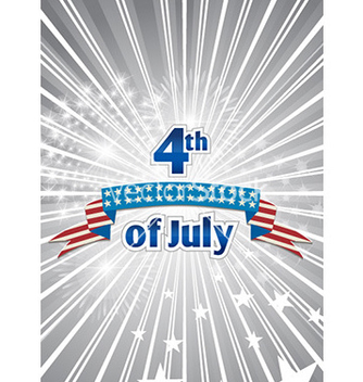 Free 4th of july independence day background vector - Free vector #228043