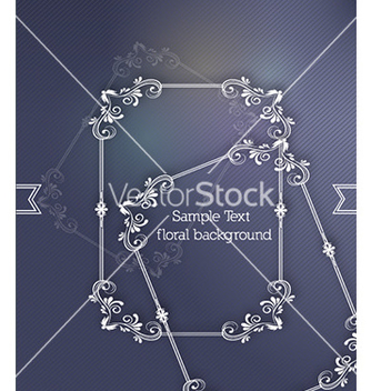 Free floral frame vector - Kostenloses vector #228923