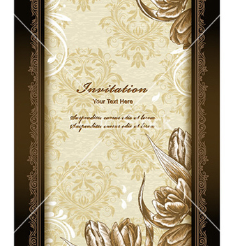Free floral background vector - Free vector #229043