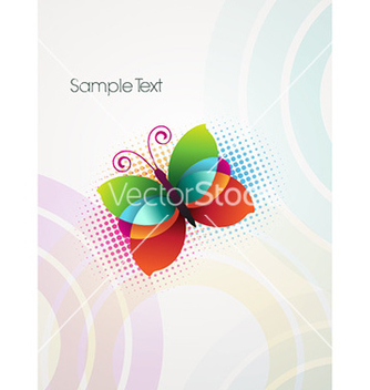Free abstract butterfly vector - Free vector #229583