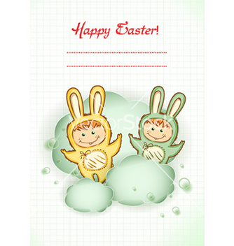 Free easter background vector - Free vector #229613