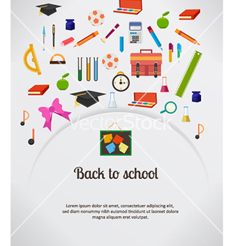 Free back to school vector - Free vector #230073