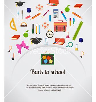 Free back to school vector - Kostenloses vector #230073
