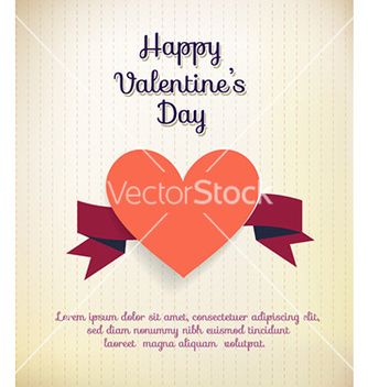 Free happy valentines day vector - vector gratuit #230093