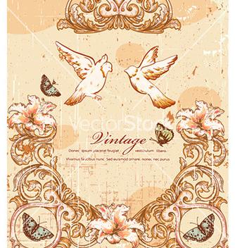 Free vintage birds vector - Free vector #230193