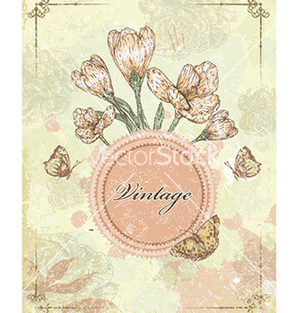 Free vintage frame vector - Free vector #230243