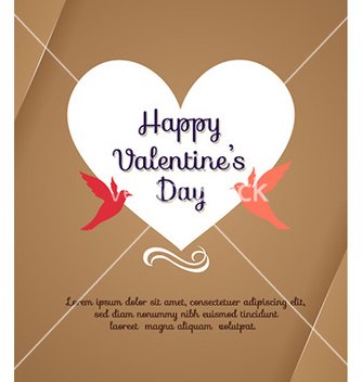 Free happy valentines day vector - Free vector #230433