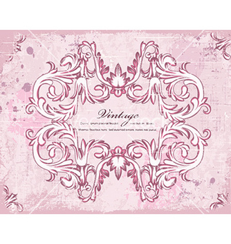 Free vintage frame vector - Free vector #230473