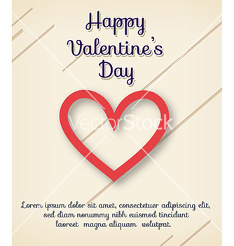 Free happy valentines day vector - Free vector #230783