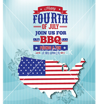 Free fourth of july vector - Free vector #230953
