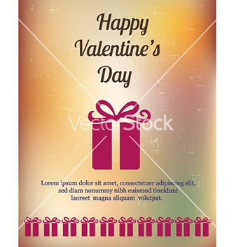 Free happy valentines day vector - vector gratuit #231353