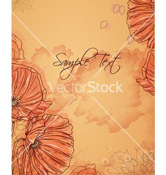 Free floral background vector - Free vector #231523