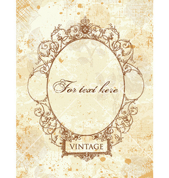 Free vintage frame vector - Free vector #231583