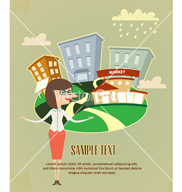 Free company business flyer vector - Free vector #231613