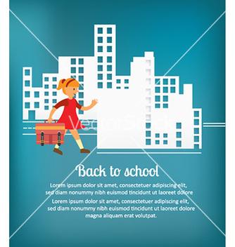 Free back to school vector - Kostenloses vector #231733