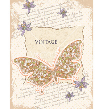 Free vintage background vector - Free vector #232273