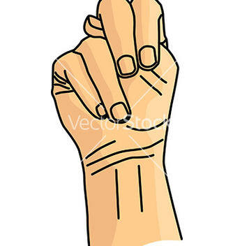 Free hand gesture vector - Free vector #232753