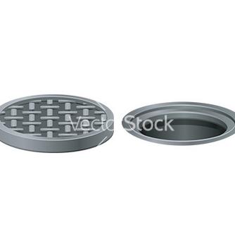 Free manhole vector - Free vector #232903