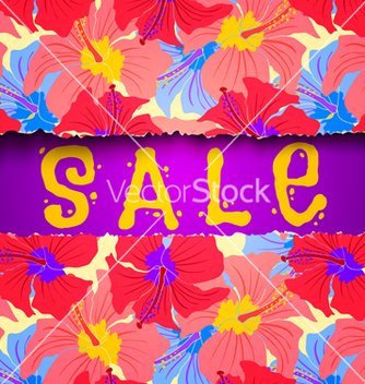Free torn paper summer sale vector - Free vector #233133