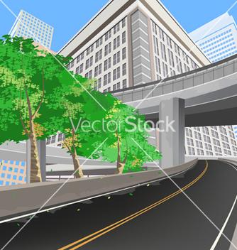 Free transportation scene vector - Free vector #233193