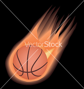 Free basketballfire vector - бесплатный vector #233573