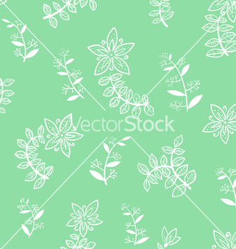 Free floral seamless vector - Free vector #234223