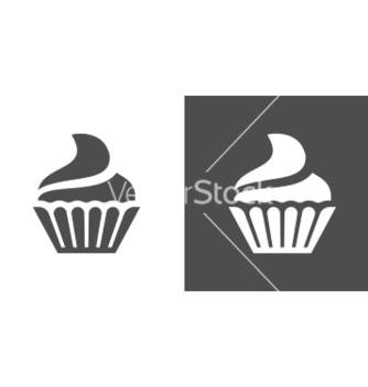 Free cupcake icon vector - vector gratuit #234263