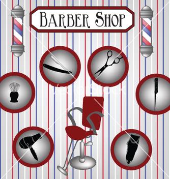 Free barber shop vector - Kostenloses vector #234443