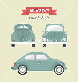Free 98retro car vector - Free vector #234563