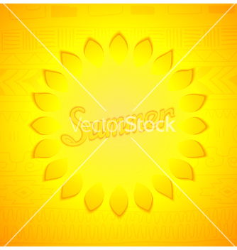 Free abstract summer design vector - Kostenloses vector #234833