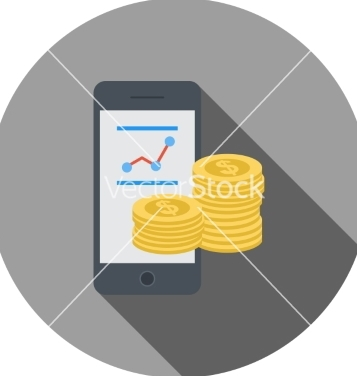 Free mobile banking vector - Free vector #235033