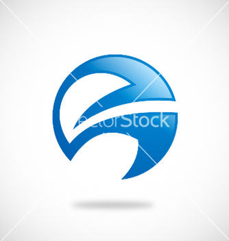 Free abstract round business logo vector - Free vector #235313