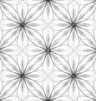 Free seamless geometric ornament vector - Free vector #235523