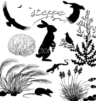Free steppe vector - Free vector #235823