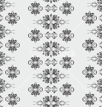 Free wallpaper pattern damask style vector - vector gratuit #236133