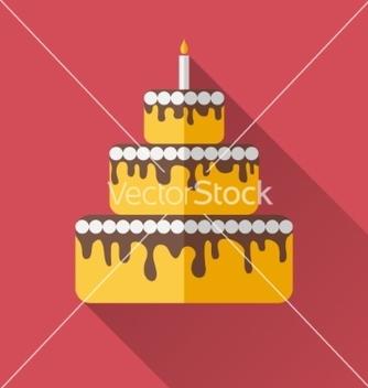 Free birthday cake vector - Free vector #236353