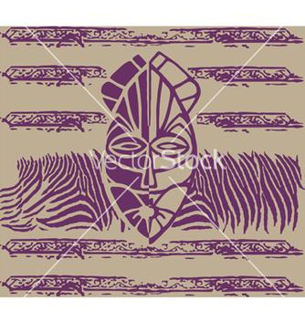 Free ethnic mask vector - Kostenloses vector #236473