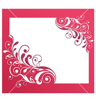 Free vintage floral frame vector - Kostenloses vector #236783