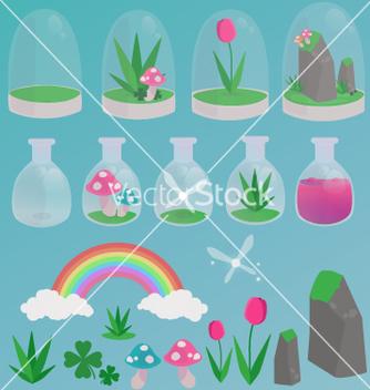 Free spring magic vector - Free vector #236903