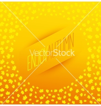 Free enjoy autumn banner vector - Free vector #237103