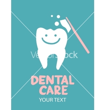 Free dental care design concept vector - Free vector #237123