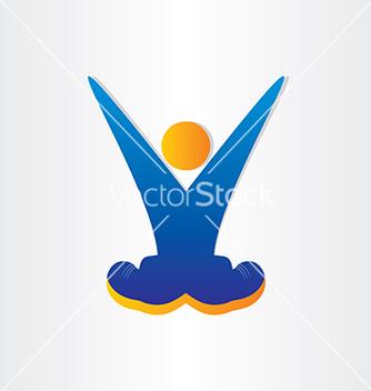 Free letter v victory symbol celebration vector - Free vector #237233