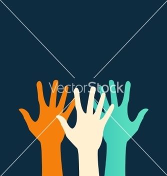 Free hands color abstraction eps vector - Free vector #237463