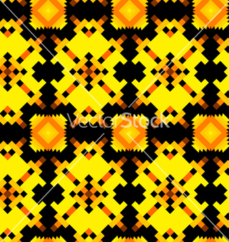 Free seamless texture with aztec drawing vector - Free vector #237563