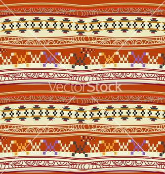 Free seamless texture with abstract mexican pattern vector - Kostenloses vector #237583