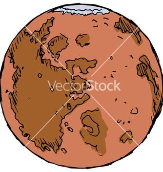 Free planet mars vector - Kostenloses vector #237683