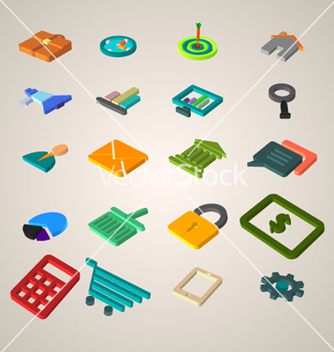 Free business icons vector - Free vector #237693