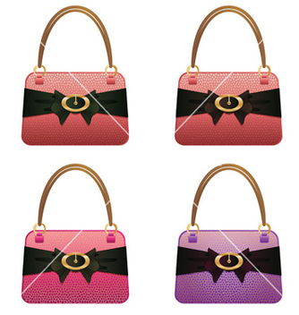 Free fashion handbag vector - Free vector #238283