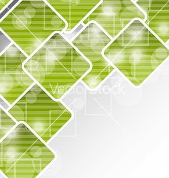 Free abstract brochure with squares for design business vector - Free vector #238423