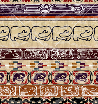 Free vintage ethnic seamless texture vector - Kostenloses vector #238623